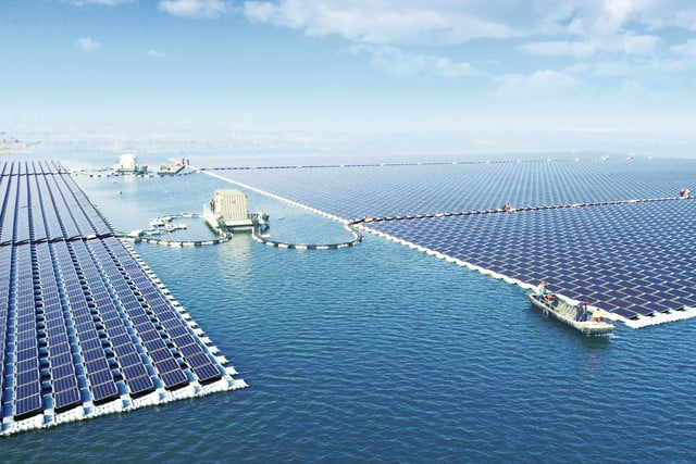 Largest Floating Solar Power Plant