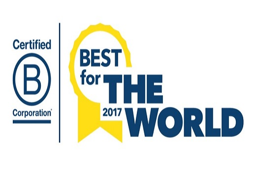 2017 Best For The World B Corporation