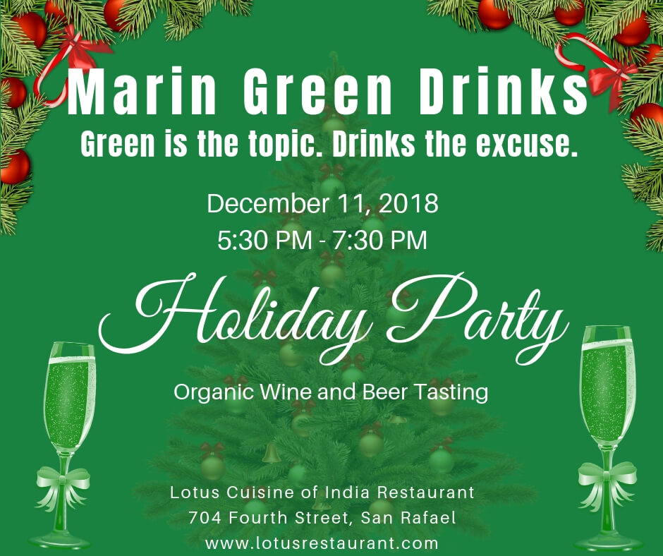 December 2018 Marin Green Drinks