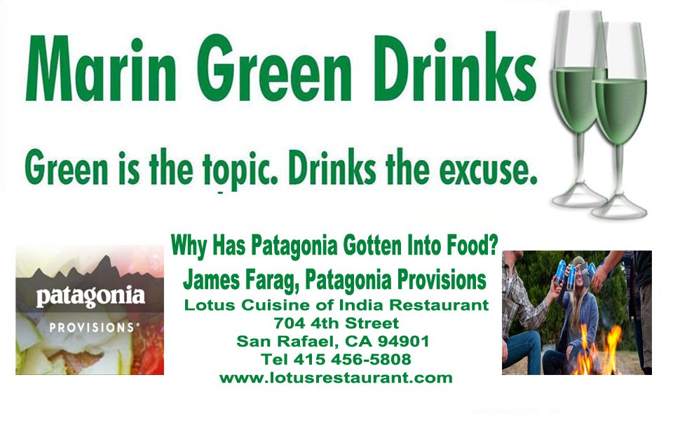 February 14 is the next Marin Green Drinks