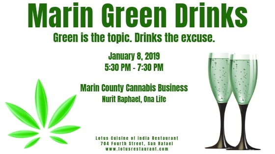 January 8 2019 Marin Green Drinks