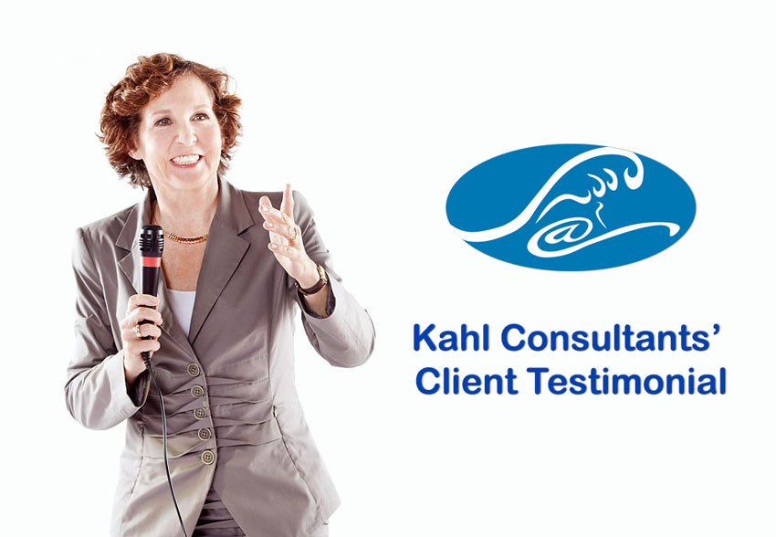 Kahl Consultants Interprojects Testimonial