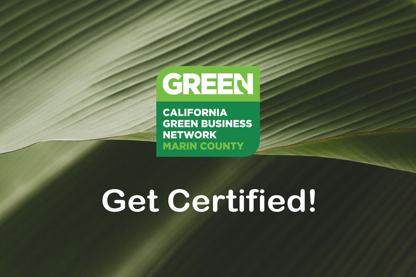 Kahl Consultants Marin County Green Business Program