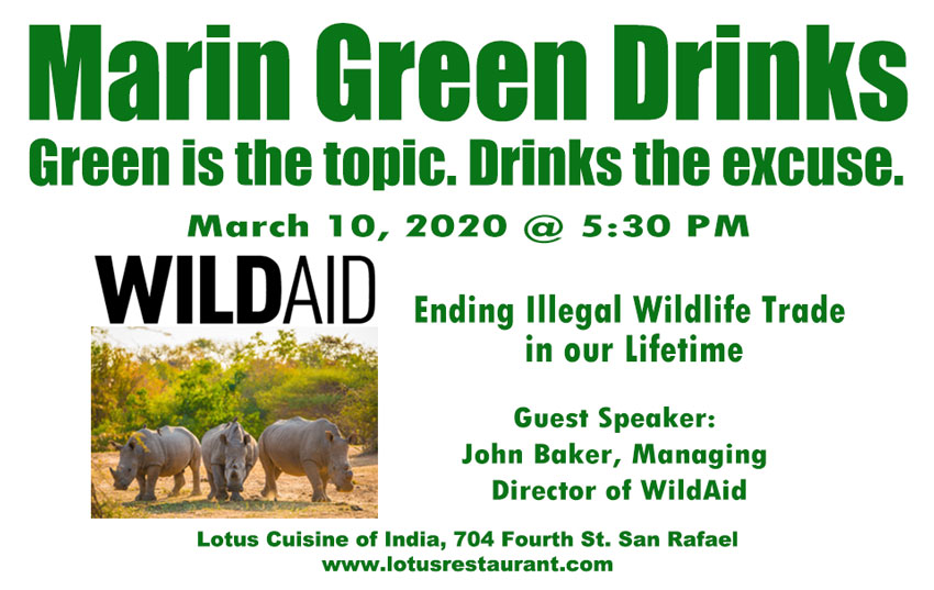 Kahl Consultants Marin Green Drinks with WildAid