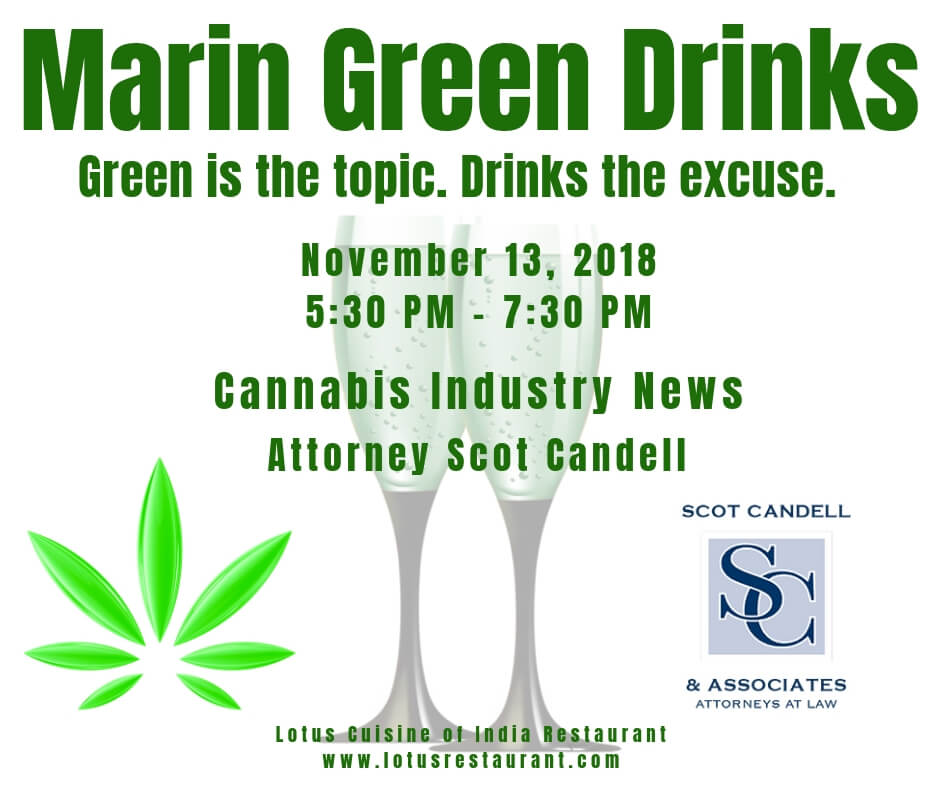 November 2018 Marin Green Drinks