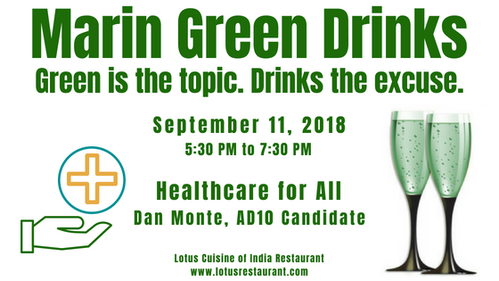 September Marin Green Drinks