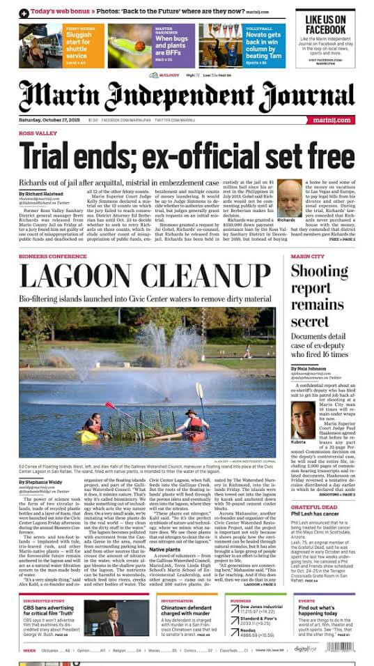 marin-independent-journal-lagoon-cleanup