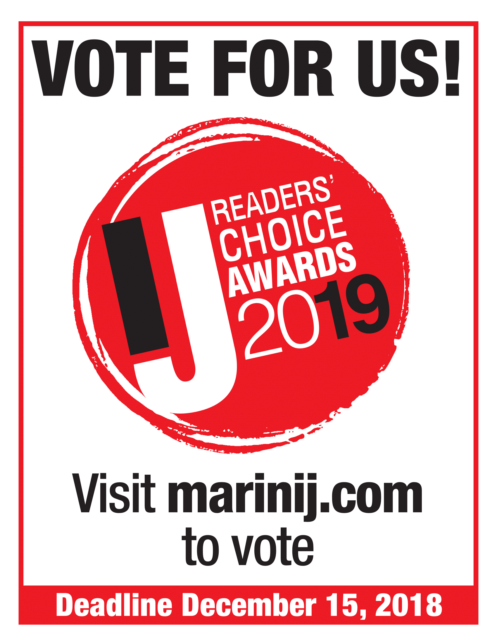 Marin IJ 2019 Readers' Choice Award